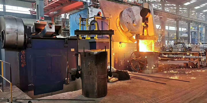 5T DUAL TRACT Induction Melting Furnace