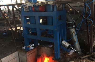 Simple Billet Maching Machine